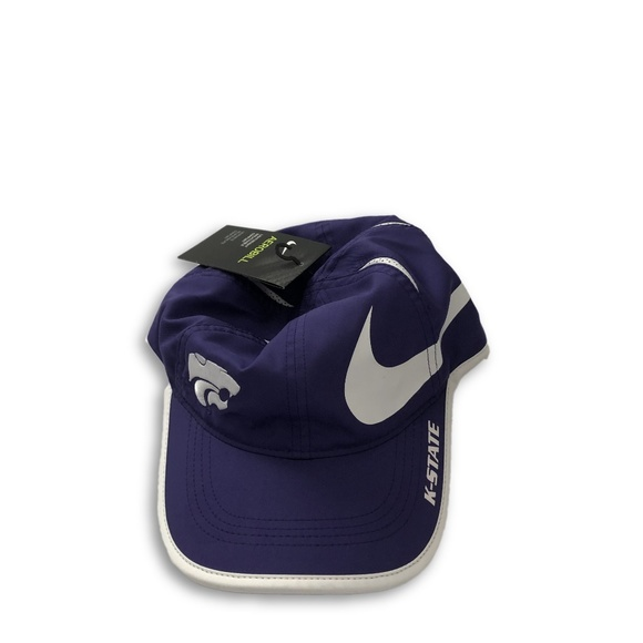 online retailer ff8c7 d0a6f Kansas State Wildcats Nike Dri-Fit Adjustable Hat
